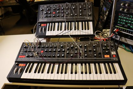 Gearjunkies video – Moog Grandmother and Matriarch Dark series patches