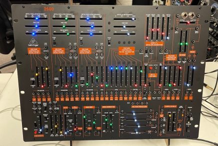 Gearjunkies video – The Behringer 2600 analog synthesizer in 25 minutes