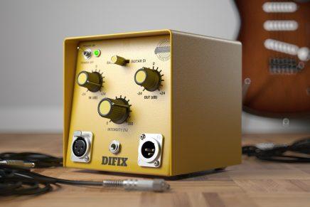 United Plugins announces SounDevice Digital's DIFIX software