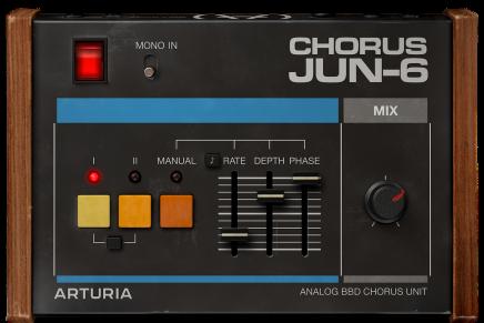 Arturia unwraps free Chorus JUN-6 effect