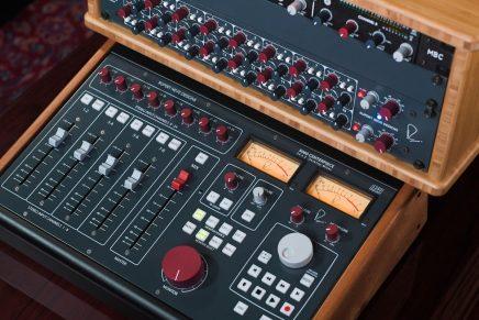 Rupert Neve Designs Updates Summing Mixer Family in Shelford Blue