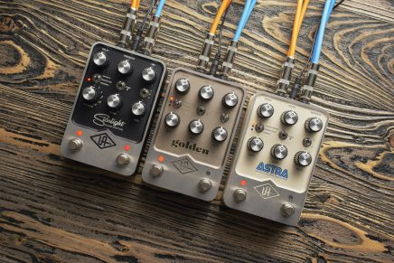 Universal Audio Introduces UAFX stompboxes