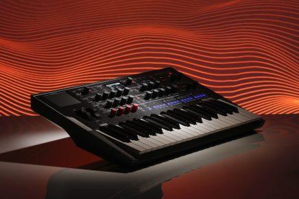 Korg announces modwave wavetable synthesizer
