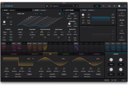 Arturia introduces Pigments 3 synthesizer plug-in