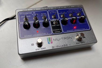 Gearjunkies video – Mu-Tron Bi-phase II dual phase-shifter pedal