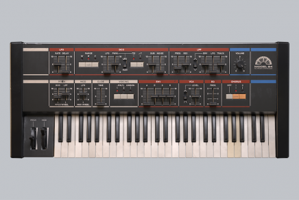 Softube releases Model 84 Polyphonic Synthesizer