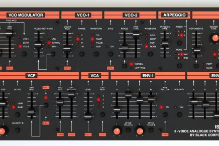 Black Corporation announces the ISE-NIN – A Jupiter 80 inspired synthesizer