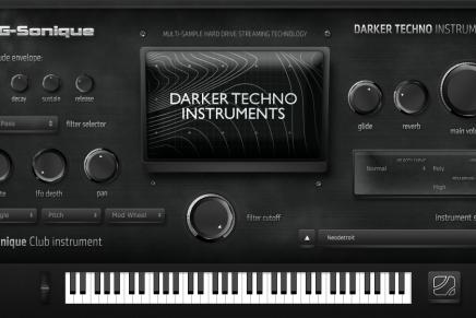 G-Sonique release Darker Techno Instruments plug-in
