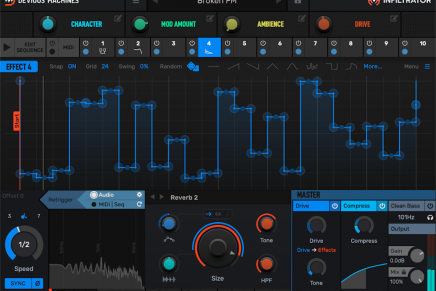 Devious Machines announces Infiltrator sequenced multi-effects