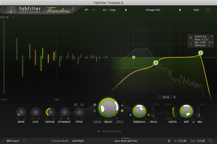 FabFilter releases Timeless 3