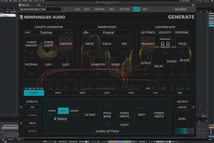 Gearjunkies video – Sensel Morph MPE MIDI controller and Newfangled Generate