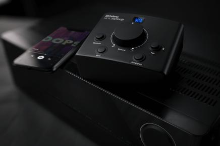 PreSonus announces MicroStation BT monitor controller with Bluetooth
