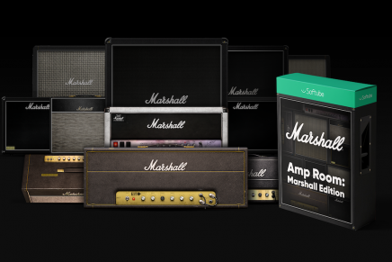 Softube releases Amp Room: Marshall Edition and a major update to Amp Room