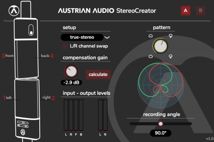 Free StereoCreator Plugin by Austrian Audio