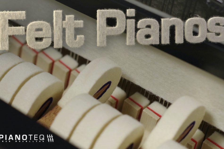 Modartt adds twelve Felt pianos to Pianoteq