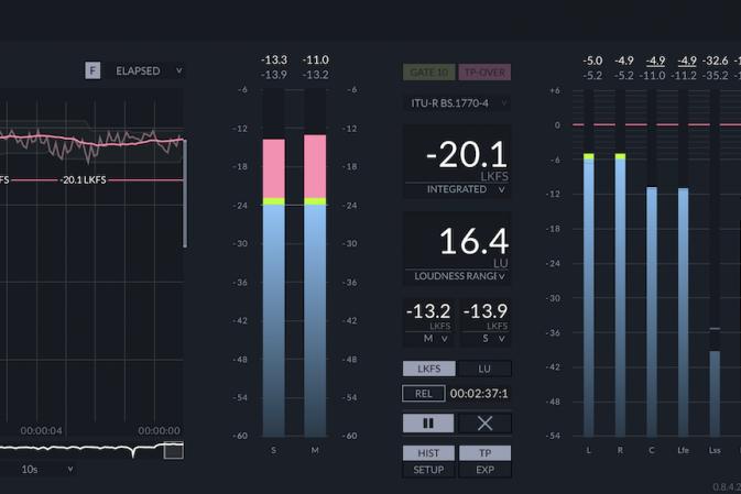 zplane releases FENNEK peak and loudness metering software