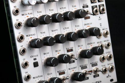 LPZW modules and Tubbutec announces 6m0d6  – TR-606 based drum module