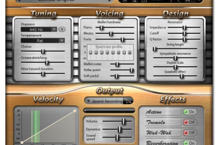 Modartt releases Celeste add-on for Pianoteq