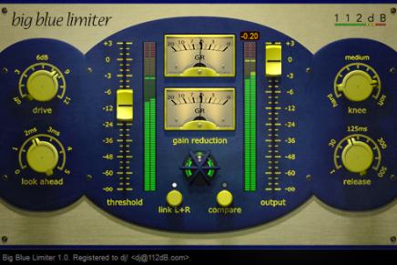 112dB updates Big Blue Limiter