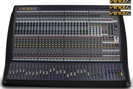 Midas introduces new VeniceF hybrid mixing desks