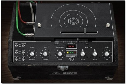 New Tape Echo plug-in for the UAD-2 platform