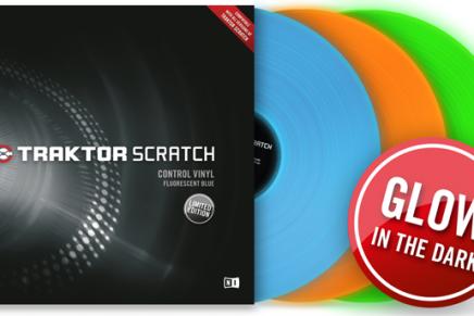 New Glow In The Dark vinyl for Traktor Scratch released