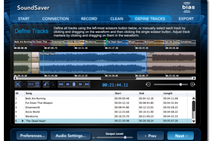 Convert old LPs and Tapes with BIAS SoundSaver