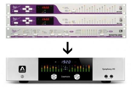 Apogee X-Series and Rosetta 800 make way for Symphony I/O