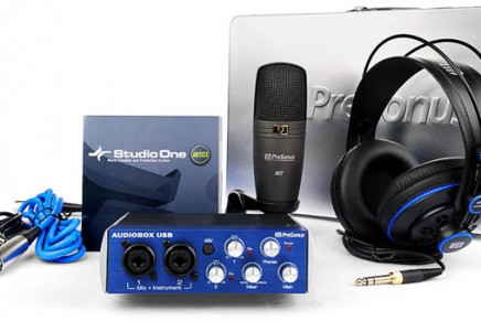 Presonus intros Production Starter Pack – 1Box