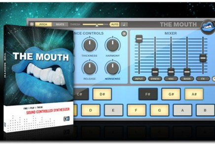 After the Finger we get the Mouth from Native Instruments