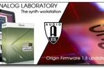 Arturia releases Analog Laboratory and Origin firmware update