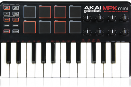 Akai Professional MPK mini Now Available