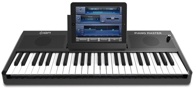 Hook up piano keyboard to ipad