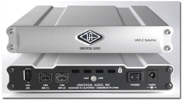 Universal Audio on Fire - UAD-2 Satellite Firewire - Gearjunkies com