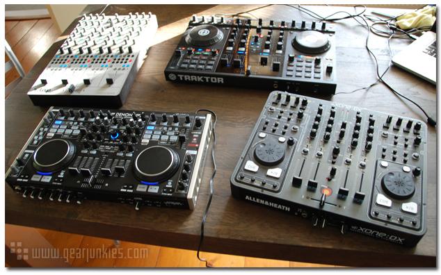 DJ Midi Controller Gearjunkies Comparison - Gearjunkies com