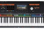 Pictures from the new Roland Jupiter-80 leaked