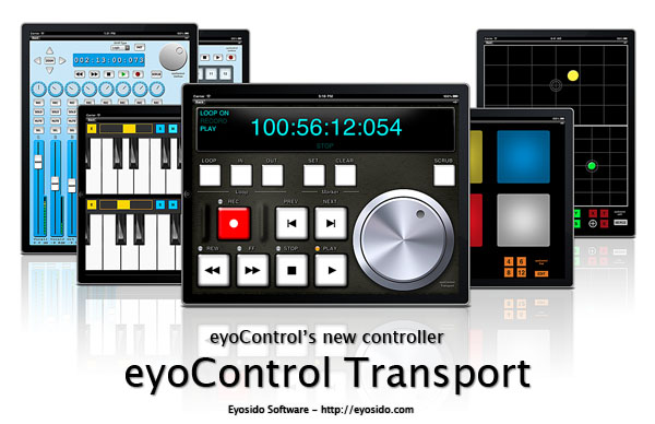 eyoControl 1 2 for iPad available with new controller