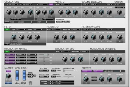 Introducing the new DiscoDSP Corona VSTi Synth