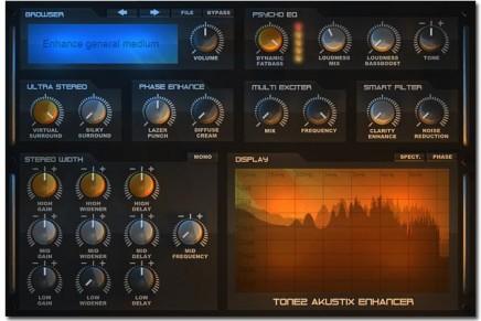 Tone2 Audiosoftware announce AkustiX Enhancer plugin