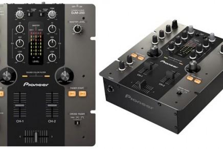 Pioneer DJM-250 DJ MIxer Introduced