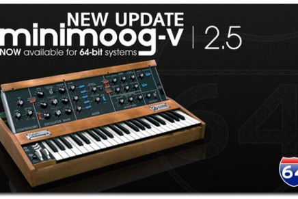 Arturia Minimoog v2.5 Now Available