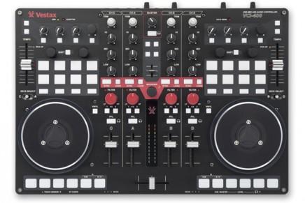 Vestax VCI-400 DJ Controller Introduced