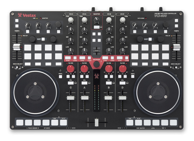 Vestax VCI-400 DJ Controller Introduced - Gearjunkies com