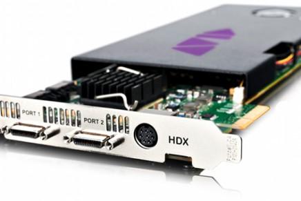 Avid Unveils New Pro Tools|HDX