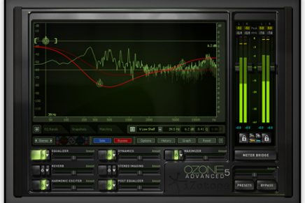 iZotope Ozone 5 and Ozone 5 Advanced Now Available