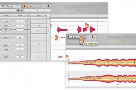 Celemony Melodyne Editor 2.0. Now Available