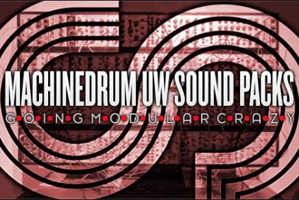 Three new Elektron Machinedrum UW Sound Packs – Free
