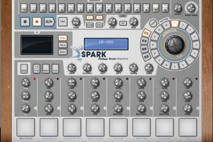 Arturia introduces SPARK Vintage Drum Machines