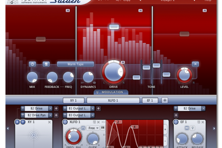 FabFilter Saturn distortion and saturation plug-in released