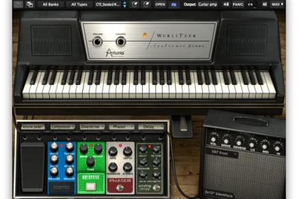 Arturia releases Wurlitzer V emulation of the EP 200A